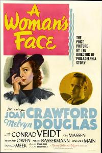 A Woman's Face - 11 x 17 Movie Poster - Style C
