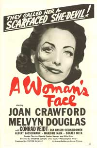 A Woman's Face - 11 x 17 Movie Poster - Style E