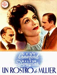 A Woman's Face - 11 x 17 Movie Poster - Spanish Style B
