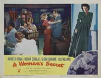 A Woman's Secret - 11 x 14 Movie Poster - Style B