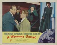 A Woman's Secret - 11 x 14 Movie Poster - Style D