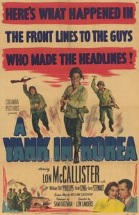 A Yank in Korea - 27 x 40 Movie Poster - Style A