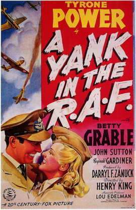 A Yank in the R.A.F. - 11 x 17 Movie Poster - Style A