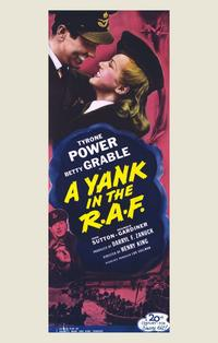 A Yank in the R.A.F. - 11 x 17 Movie Poster - Style B