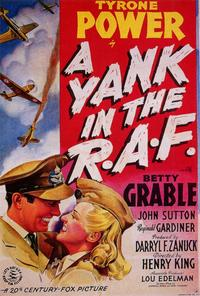 A Yank in the R.A.F. - 27 x 40 Movie Poster - Style A