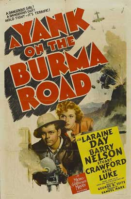A Yank on the Burma Road - 11 x 17 Movie Poster - Style A