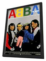 Abba: The Movie - 11 x 17 Movie Poster - German Style C - in Deluxe Wood Frame