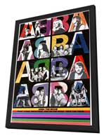 Abba: The Movie - 11 x 17 Movie Poster - German Style D - in Deluxe Wood Frame