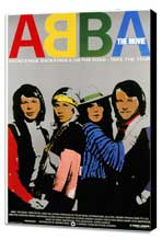 Abba: The Movie - 11 x 17 Movie Poster - German Style C - Museum Wrapped Canvas