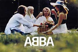 Abba: The Movie - 11 x 17 Movie Poster - German Style A
