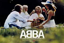 Abba: The Movie - 27 x 40 Movie Poster - German Style A