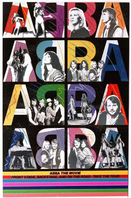 Abba: The Movie - 11 x 17 Movie Poster - German Style D