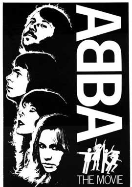 Abba: The Movie - 11 x 17 Movie Poster - German Style E