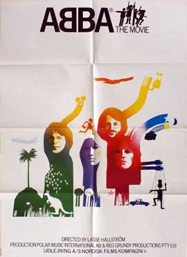 Abba: The Movie - 11 x 17 Movie Poster - Danish Style A