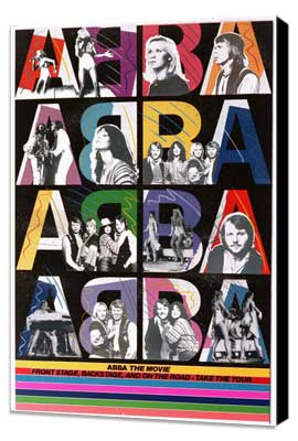 Abba: The Movie - 11 x 17 Movie Poster - German Style D - Museum Wrapped Canvas