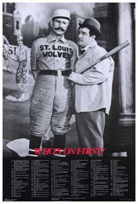 Abbott & Costello - Who's On First - 27 x 40 Movie Poster - Style A