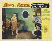 Abbott and Costello Go to Mars - 11 x 14 Movie Poster - Style B