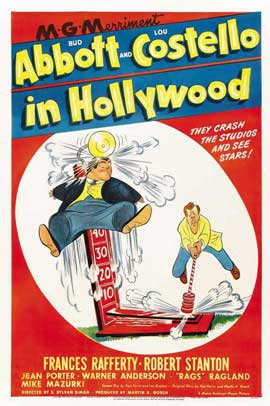 Abbott and Costello in Hollywood - 11 x 17 Movie Poster - Style A