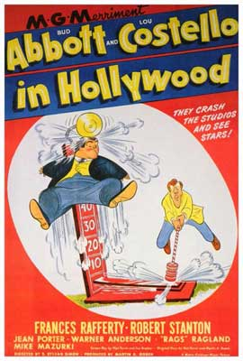 Abbott and Costello in Hollywood - 27 x 40 Movie Poster - Style A