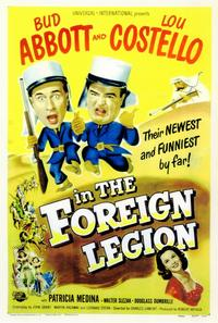 Abbott and Costello in the Foreign Legion - 11 x 17 Movie Poster - Style A
