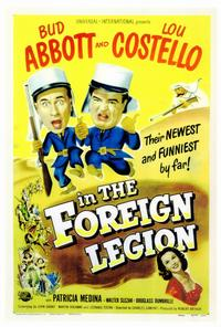 Abbott and Costello in the Foreign Legion - 27 x 40 Movie Poster - Style A