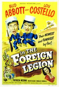 Abbott and Costello in the Foreign Legion - 43 x 62 Movie Poster - Bus Shelter Style A