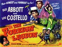 Abbott and Costello in the Foreign Legion - 11 x 14 Poster UK Style A