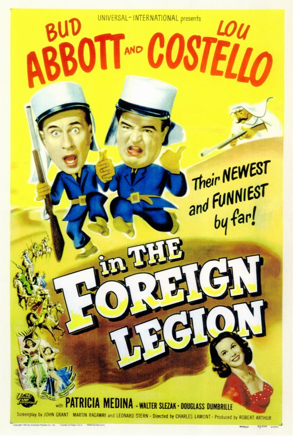 Abbott and Costello in the Foreign Legion movie