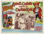 Abbott and Costello Meet Captain Kidd - 27 x 40 Movie Poster - Foreign - Style A