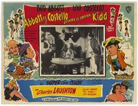 Abbott and Costello Meet Captain Kidd - 11 x 17 Movie Poster - Spanish Style B