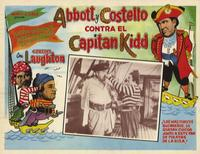 Abbott and Costello Meet Captain Kidd - 11 x 17 Poster - Foreign - Style A