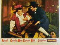 Abbott and Costello Meet Captain Kidd - 11 x 14 Movie Poster - Style C