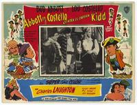 Abbott and Costello Meet Captain Kidd - 27 x 40 Movie Poster - Spanish Style D