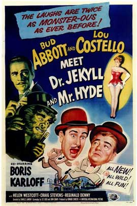 Abbott and Costello Meet Dr. Jekyll and Mr. Hyde - 11 x 17 Movie Poster - Style A