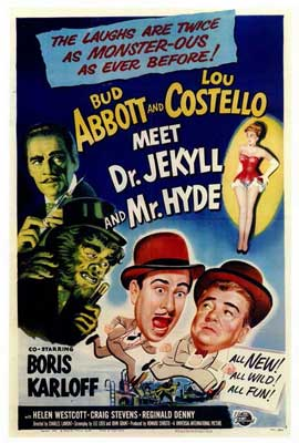 Abbott and Costello Meet Dr. Jekyll and Mr. Hyde - 27 x 40 Movie Poster - Style A
