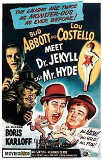 Abbott and Costello Meet Dr. Jekyll and Mr. Hyde - 43 x 62 Movie Poster - Bus Shelter Style A