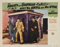 Abbott and Costello Meet Dr. Jekyll and Mr. Hyde - 11 x 14 Movie Poster - Style A