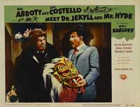 Abbott and Costello Meet Dr. Jekyll and Mr. Hyde - 11 x 14 Movie Poster - Style B