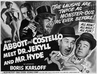 Abbott and Costello Meet Dr. Jekyll and Mr. Hyde - 22 x 28 Movie Poster - Half Sheet Style A