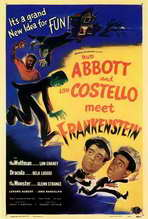 Abbott and Costello Meet Frankenstein - 27 x 40 Movie Poster - Style A