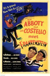 Abbott and Costello Meet Frankenstein - 11 x 17 Movie Poster - Style A