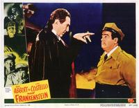Abbott and Costello Meet Frankenstein - 11 x 14 Movie Poster - Style A