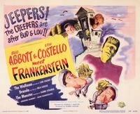 Abbott and Costello Meet Frankenstein - 11 x 14 Movie Poster - Style C