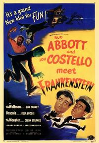 Abbott and Costello Meet Frankenstein - 43 x 62 Movie Poster - Bus Shelter Style A