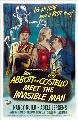 Abbott and Costello Meet the Invisible Man - 27 x 40 Movie Poster - Style B