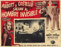 Abbott and Costello Meet the Invisible Man - 11 x 17 Movie Poster - Spanish Style B
