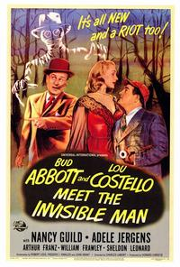 Abbott and Costello Meet the Invisible Man - 27 x 40 Movie Poster - Style A