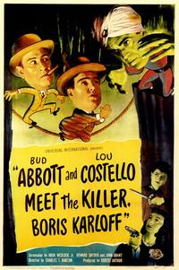Abbott & Costello Meet the Killer, B.Karloff - 11 x 17 Movie Poster - Style A