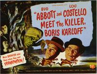 Abbott & Costello Meet the Killer, B.Karloff - 11 x 14 Movie Poster - Style A