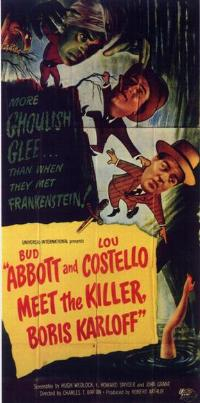 Abbott and Costello Meet the Killer, Boris Karloff - 11 x 17 Movie Poster - Style A